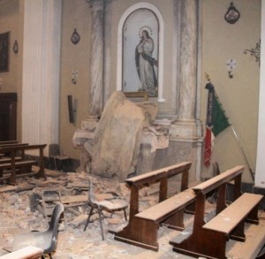 chiesa terremoto